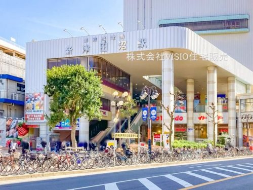 新京成線「新津田沼」駅(周辺)